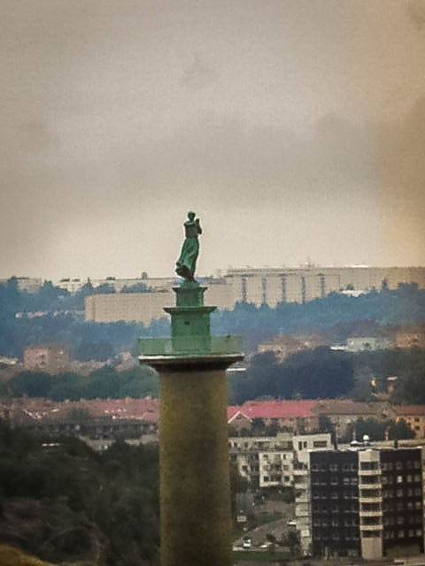Blick über Göteborg