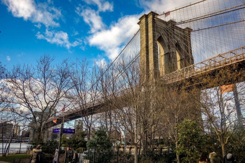 Dumbo Brooklyn Bridge New York