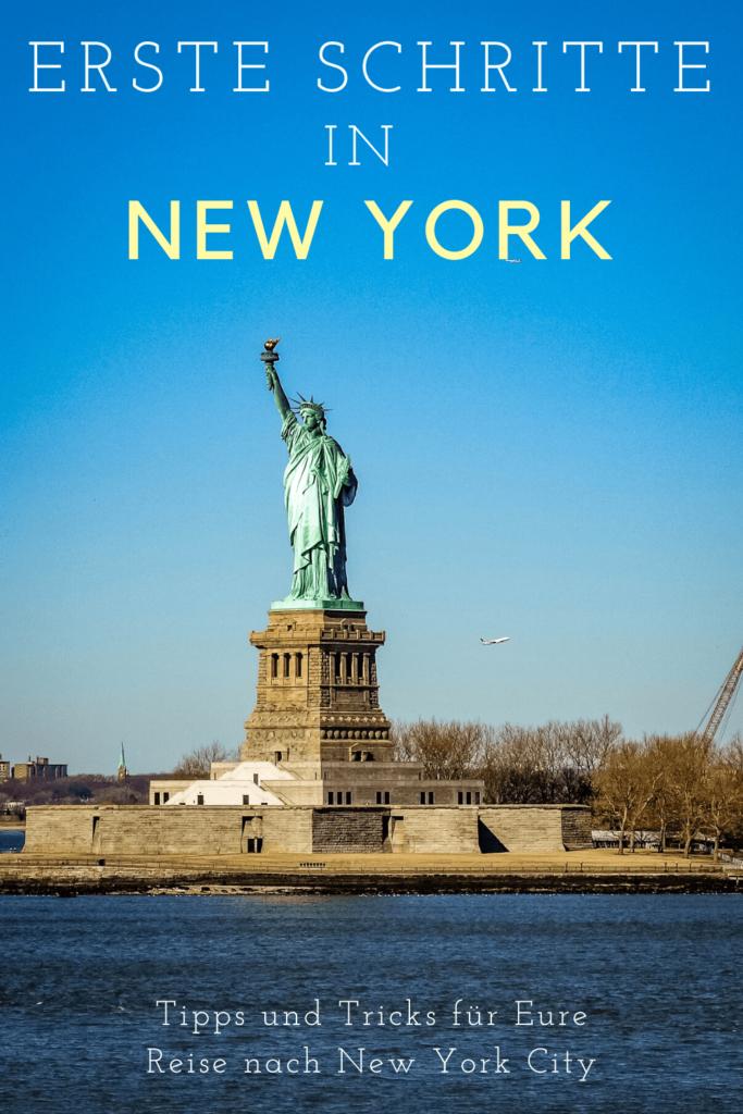 Erste Schritte in New York