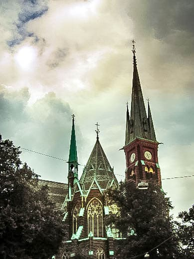 Oscar-Fredriks-Kirche Göteborg