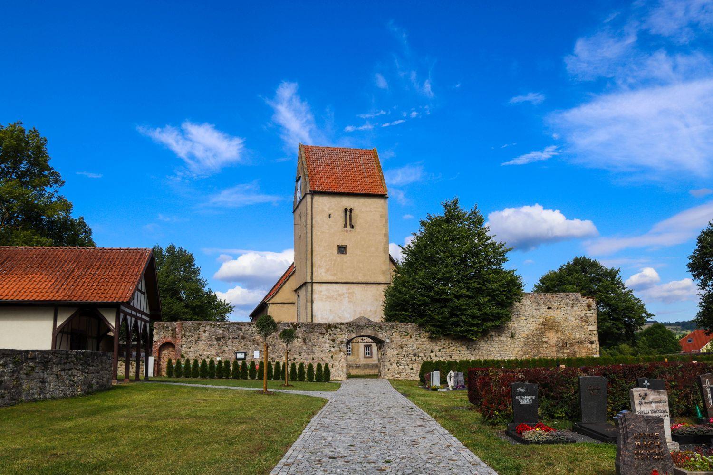 Der Friedhof Kaltensundheim