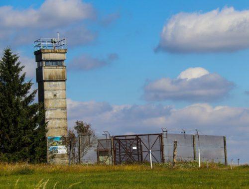 Die Grenzanlage im Schwarzen Moor