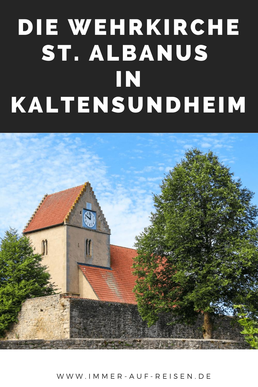 Die Wehrkirche St Albanus in Kaltensundheim