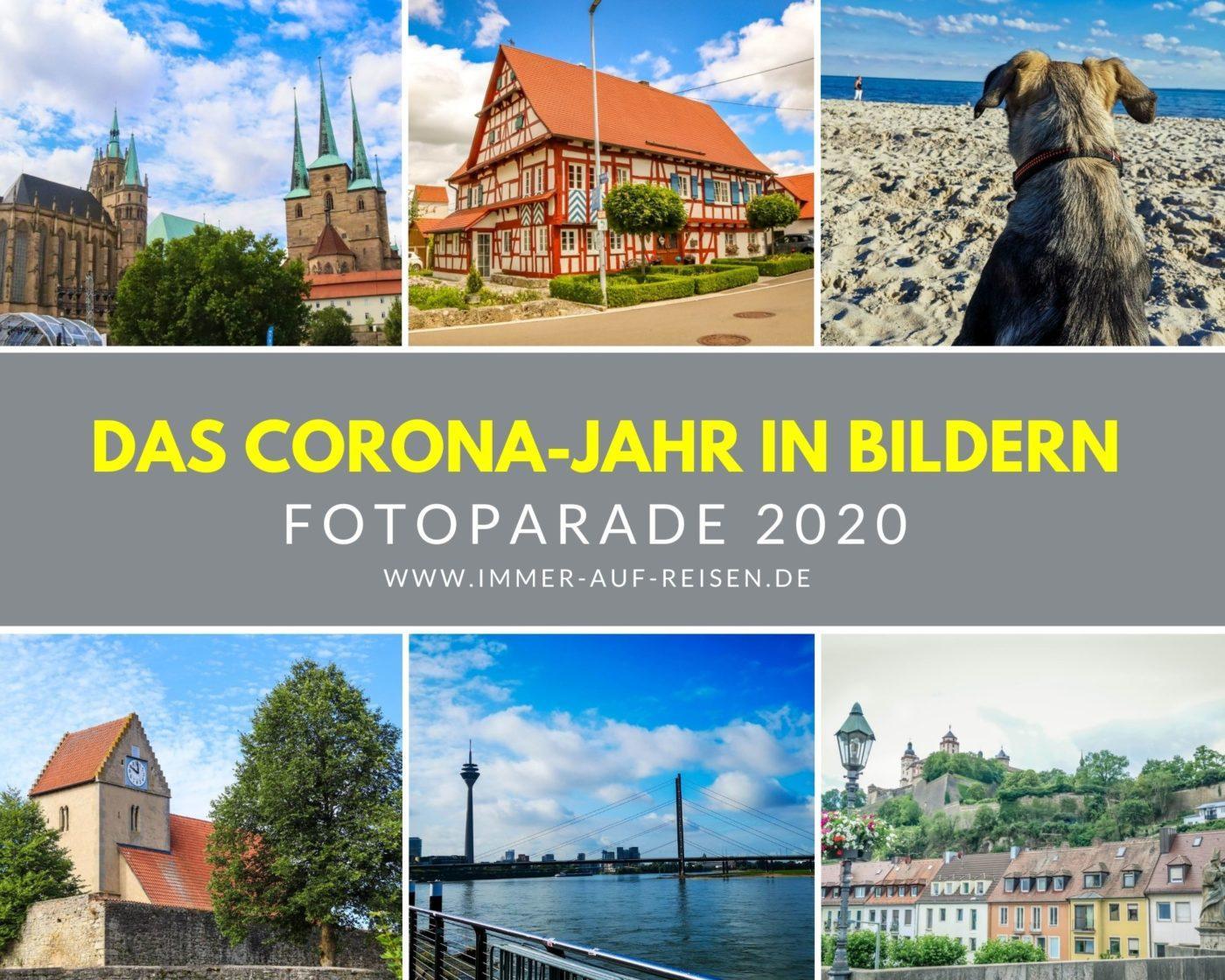 Das Corona-Jahr in Bildern