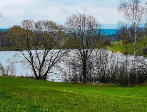 Stausee Stepfershausen -Wahns