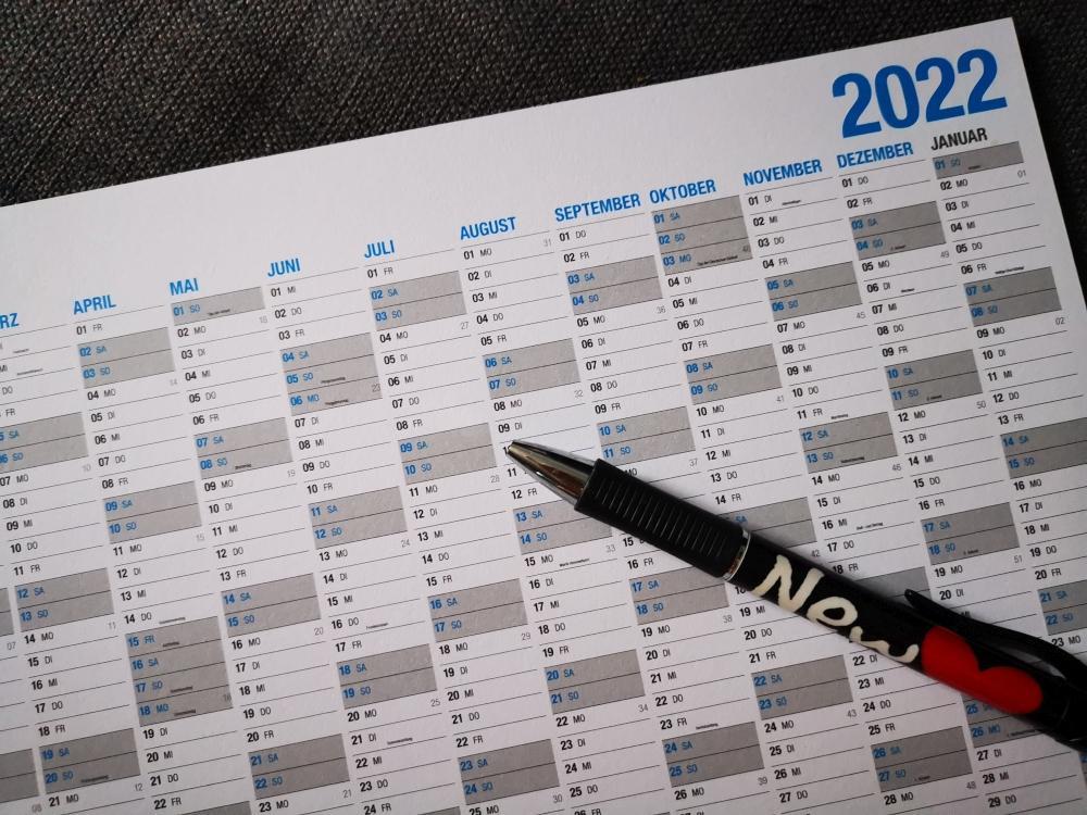 Brückentage 2022 planen