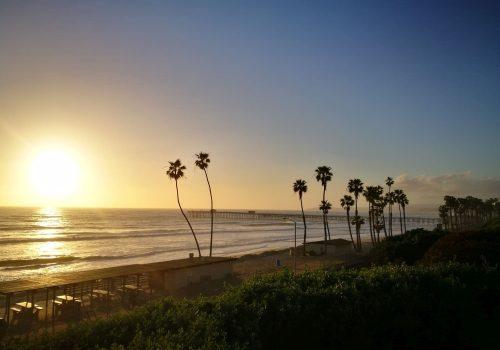 Sonnenuntergang in St Clemente